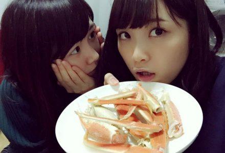 【悲報】橋本奈々未ふてくされてカニカマを食べるw