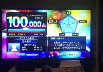 クイズ王こと古川洋平さん『サヨナラの意味』をカラオケで100点を取るww